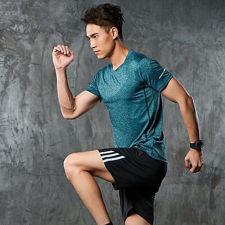 Bộ quần áo thể thao nam co giãn 4 chiều phiên bản Hàn Quốc mã QA.H-193 6