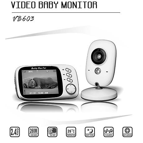 Máy báo khóc VB603 màn hình 3.2inch 2