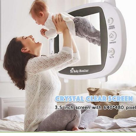 Camera báo khóc trẻ em không dây tần số 2.4G 3
