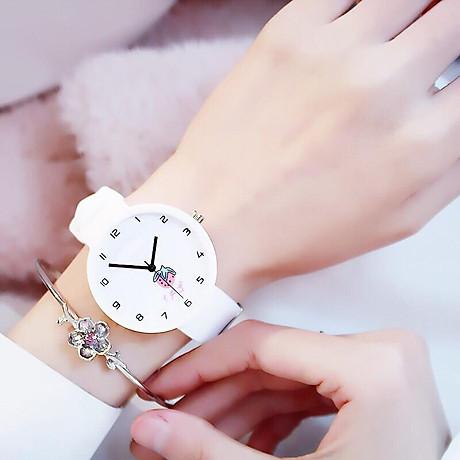 Đồng hồ nữ trái dâu Nhật Bản 4 màu thời trang 1