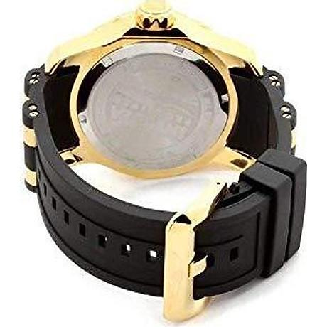 Invicta Men s 6994 Pro Diver Collection GMT Green Dial Black Polyurethane Watch 3