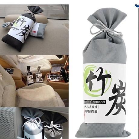 Túi Than Tre hoạt tính khử mùi, lọc không khí xe hơi, xe ôtô (màu sắc ngẫu nhiên) 6