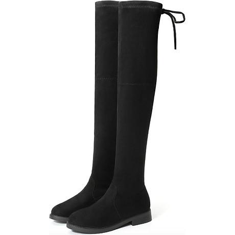 Boot nữ cổ cao đế trệt GCC28 1