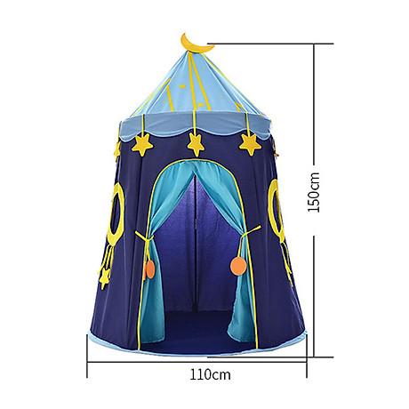 Lều hoàng tử - công chúa cho bé có đèn, lều cho bé PR001 (giao màu ngẫu nhiên) 8