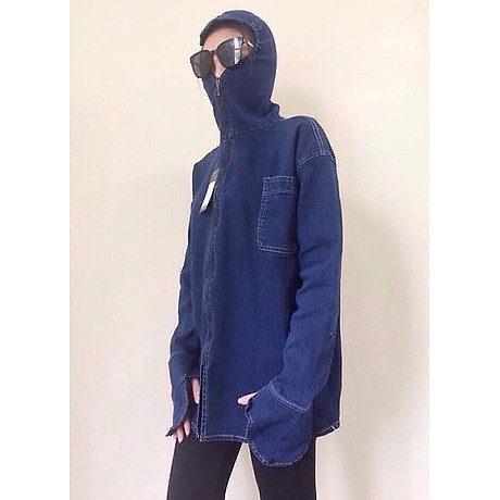 Áo chống nắng suông nữ bò 2 lớp - VNXK 1