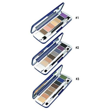 Phấn mắt 8 ô siêu mịn Mira Aroma Shadow Palette 8 Colors Hàn Quốc (2g x8) No.1 tặng kèm móc khoá 8