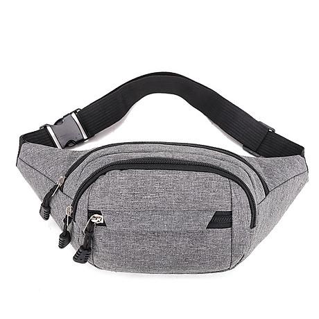 Túi đeo chéo bao tử nam nữ thời trang nhiều ngăn MIBAG41 4