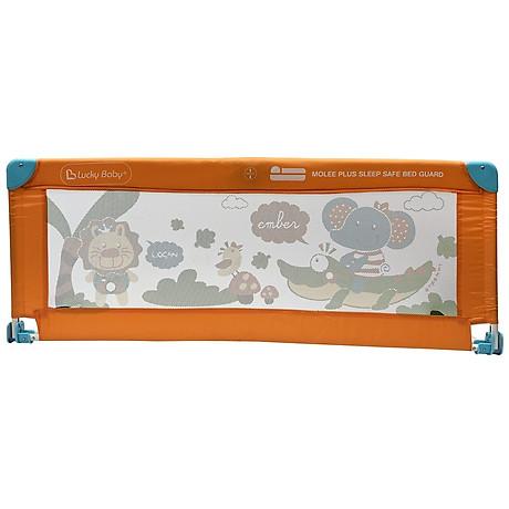 Thanh chắn giường an toàn cho bé Lucky Baby - MOLEE PLUS CHILDREN SAFETY BED GUARD 130x51 cm 500316 1