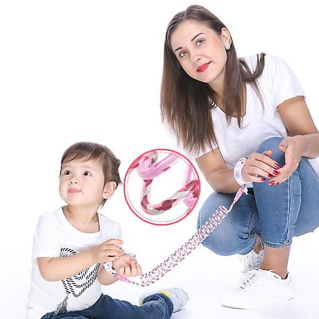 Dây Dây Dắt Trẻ Em Đi Dạo Lõi Thép Phản Quang Có Khóa BabyPlay 3