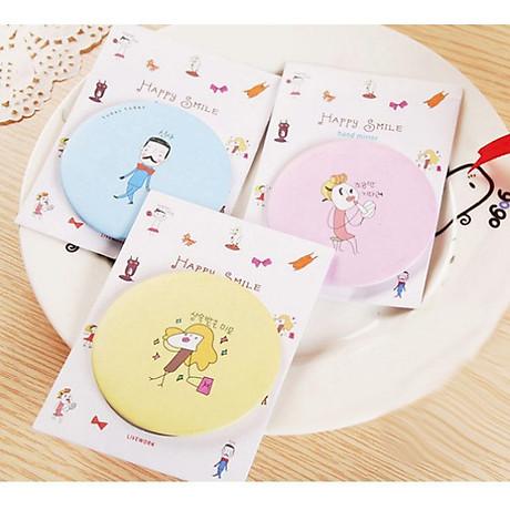 Combo 5 Gương mini bỏ túi siêu cute , nhỏ gọn xinh xắn thích hợp cho các bạn nữ có thể mang theo khắp mọi nơi GD222-GuongMN giao ngẫu nhiên 1