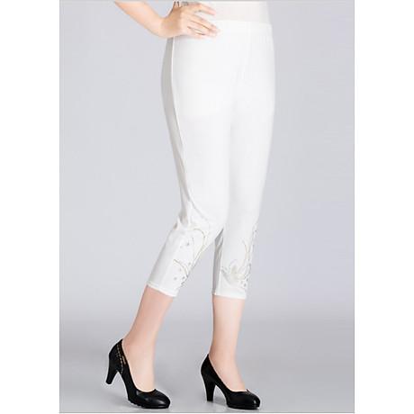 Quần legging nữ co giãn đính cườm Haint Boutique lg05 1