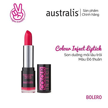 Son Lì Colour Inject Lipstick Australis Úc 2