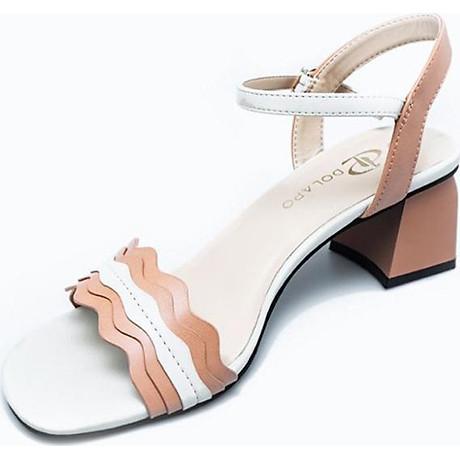 Giày Sandal Nữ Gót Vuông Dolapo SDV1086 4