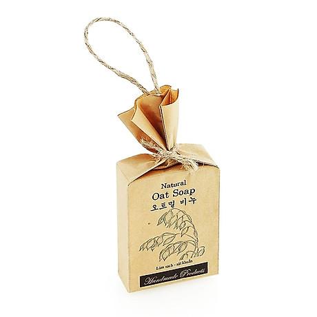 Xà phòng handmade thảo mộc tinh chất Yến Mạch - ECOLIFE Natural Soap - Oat 3