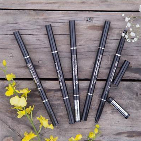 Chì kẻ chân mày Beauskin Crystal Eyebrow Pencil Hàn Quốc + Móc khóa 6