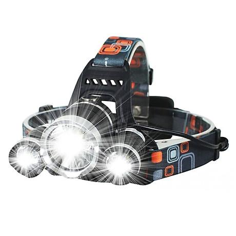 Đèn pin đội đầu 3 bóng L4 - thiết bị chiếu sáng đeo đầu tiện dụng 1