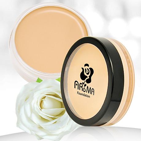 Kem che khuyết điểm Aroma Cover Foundation Hàn Quốc 14g No.21 Light Beige tặng kèm móc khoá 3