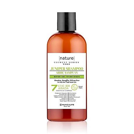 Dầu Gội Tái Tạo Tóc Và Da Đầu Chiết Xuất Cây Bách Xù Hương Thơm Tươi Mát HUNCA Juniper Shampoo 500ml 1