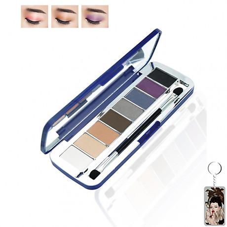 Phấn mắt 8 ô siêu mịn Mira Aroma Shadow Palette 8 Colors Hàn Quốc (2g x8) No.2 tặng kèm móc khoá 1