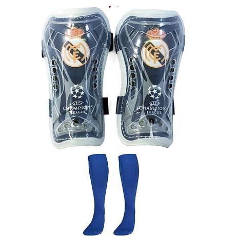 Combo Bó ống đồng đá bóng trẻ em các câu lạc bộ + Tất đá bóng dài trẻ em - Giao màu ngẫu nhiên (Free size) 3