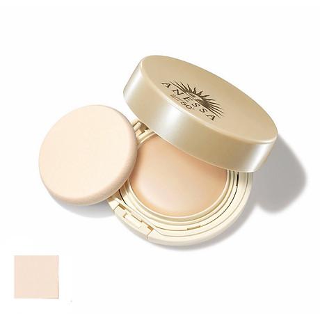 Kem Nền Trang Điểm Chô ng Nă ng Dươ ng Da Dạng Nén Anessa Perfect UV Skincare Base Makeup SPF50+ PA+++ 10g 1