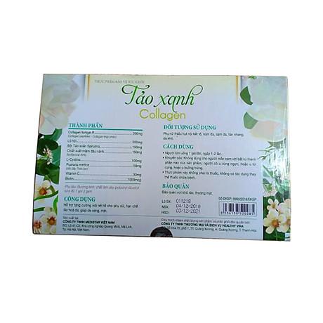 Thực phẩm chức năng Tảo xanh collagen hera hộp 30 gói 2