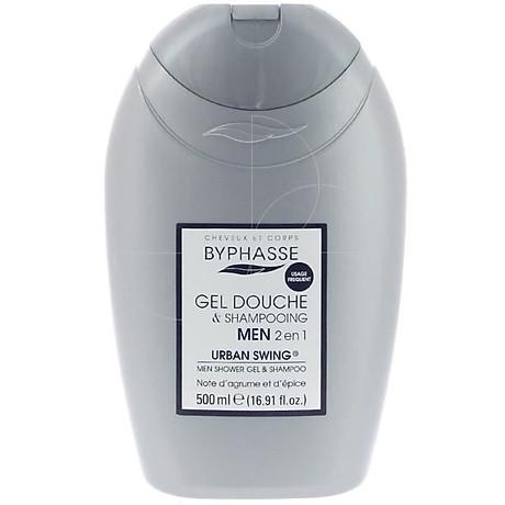 Men Shower Gel-Shampoo 2 in 1 Urban Swing xám trắng 500ml 1