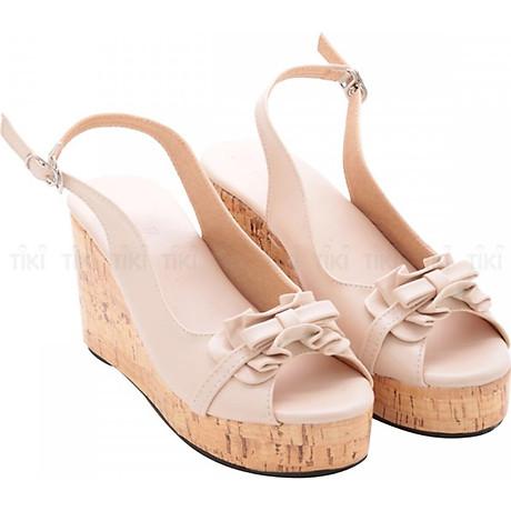 Giày Đế Xuồng Nữ Phối Nơ Bèo DS017 1