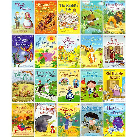 Usborne My First Reading Library - Bộ Xanh 50 cuốn 7