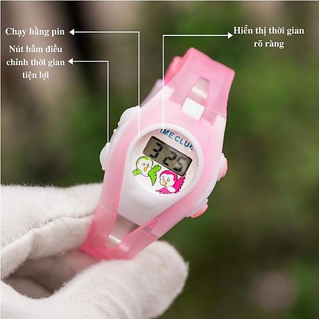 Đồng hồ điện tử UNISEX PAGINI TE02 Phong cách thể thao Trang trí các nhân vật hoạt hình cực dễ thương 3
