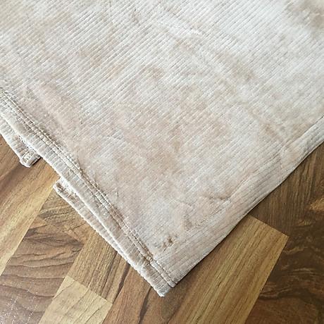 Chân váy bút chì chất gấm nhung tăm mềm mịn cạp lưng thấp co giãn xẻ tà sau 2