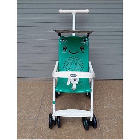 Xe đẩy du lịch (có mái che, phanh chân, bảo hiểm, túi đồ)- màu cho bé trai- chọn màu ngẫu nhiên 6