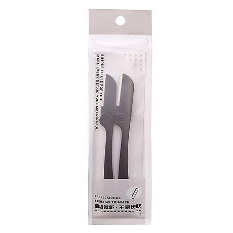 Bộ 2 dao cạo tỉa lông mày Eyebrow Trimmer - Đen 1