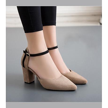 Giày Cao Gót Bít Mũi Nhã Nhặn 2