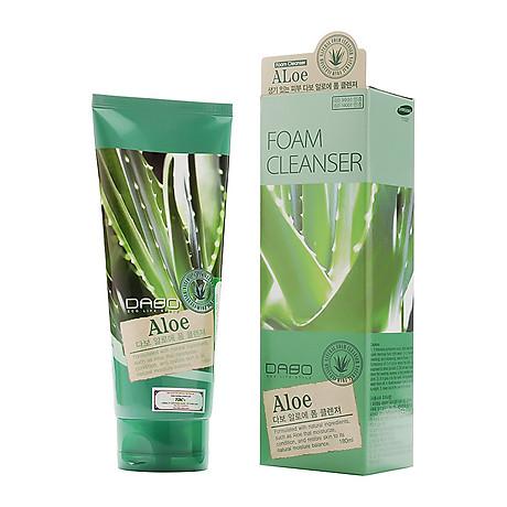 Sữa Rửa Mặt Làm Sạch Sâu Và Dưỡng Ẩm Từ Tinh Chất Lô Hội Dabo Aloe 180ml - Hàn Quốc Chính Hãng 3