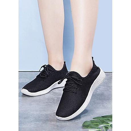 Giày nữ thể thao nữ thời trang đế cao su - Đen 1