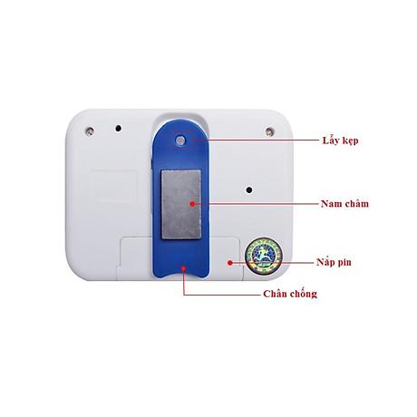 Đồng hồ bấm giờ có chế độ đếm ngược mini V2 (Tặng kèm miếng thép đa năng 11in1) 4