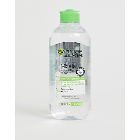 Tẩy Trang Garnier Cleasing Water - Xanh lá - Da hỗn hợp 1