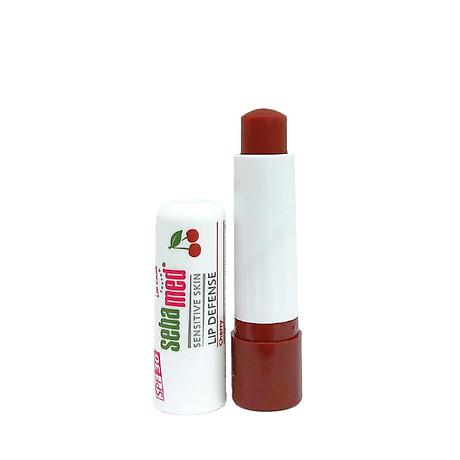 Son Dươ ng Ba o Vê Chô ng Khô Va Nư t Môi Hương Cherry Sebamed pH5.5.5 (4.8g) 2