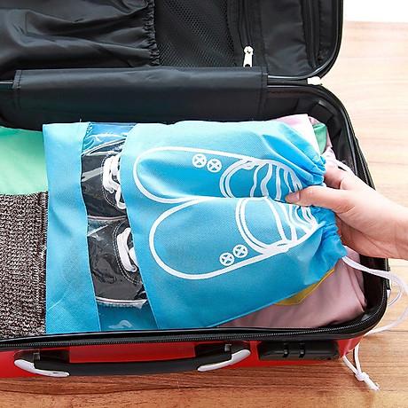 Bộ 3 Túi Đựng Giày Nhỏ Gọn Tiện Dụng Size To 3
