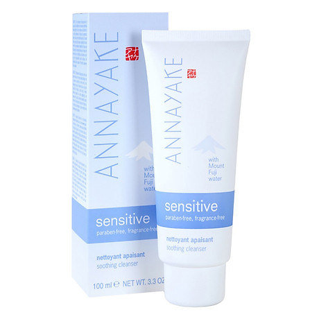 Sữa Rửa Mặt Cho Da Nhạy Cảm Annayake Sensitive Soothing Cleanser (100ml) 2