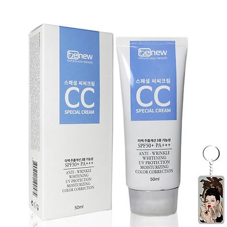 Kem nền trắng da chống nắng Special CC Cream SPF50 PA+++ Hàn Quốc 50ml 1