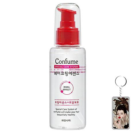 [Tặng móc khoá] Tinh dầu dưỡng tóc thảo dược phục hồi tóc hư tổn Confume Coating Essence 100ml 1