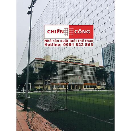 Lưới Chắn Sân Bóng 2.5ly sợi đanh nặng - Xanh Rêu 1