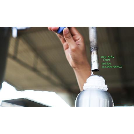 Tinh dầu Hương Nhu 100ml Mộc Mây - tinh dầu thiên nhiên nguyên chất 100% - chất lượng và mùi hương vượt trội - chuyên gia chăm sóc tóc hư tổn 24