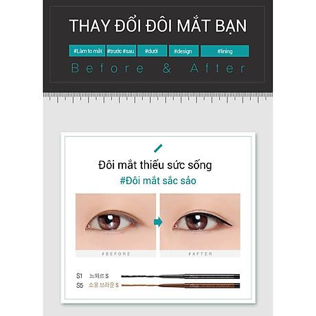 Gel chì kẻ mắt Bbia Last Auto Gel Eyeliner Slim 0.1g (5 màu) 7