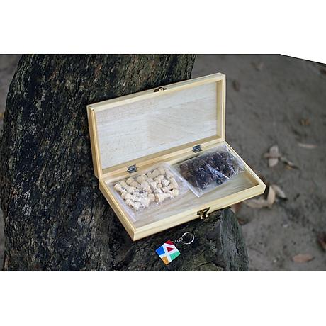 Đồ chơi giáo dục cho bé giúp trẻ em thông minh bằng gỗ tự nhiên, cờ vua cho bé giúp phát triển trí tuệ từ nhỏ. 4