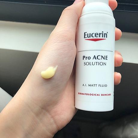 Kem Dưỡng Giúp Giảm Dầu Và Mụn Eucerin Pro - Acne Solution A.I Matt Fluid    Trị mụn   InnisfreeShop.Vn