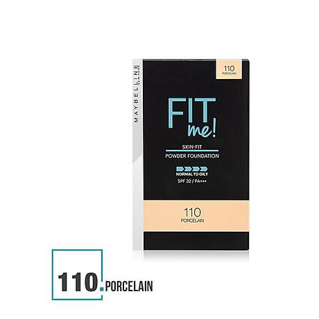 Phấn Nền Maybelline Fit Me Skin-Fit Powder Foundation 9gr Siêu Mịn Màng PM714 2