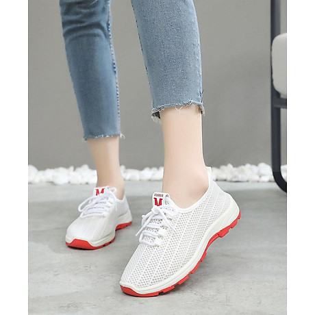 Giày sneaker nữ phong cách thể thao thoáng khí 197 7